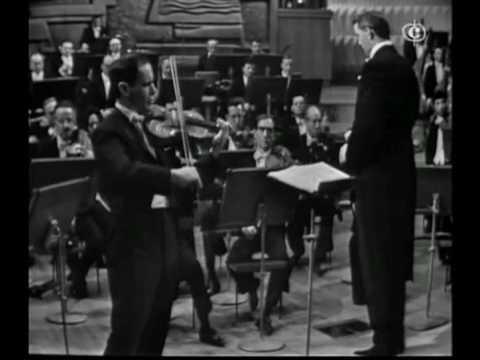 Leonid Kogan: Beethoven, Violin Concerto (Mov.1.Part.1)
