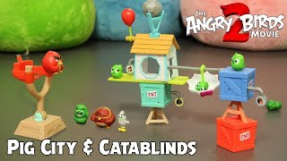 Angry Birds Build 'N Launch Play Set | The Angry Birds Movie 2 Toys Unboxing