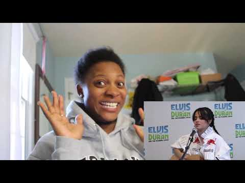 Camila Cabello - Havana Acoustic on Elvis Duran Reaction Video