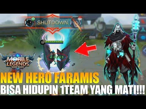 download NEW HERO FARAMIS - ULTINYA GAX MASUK AKAL BISA MENGHIDUPKAN 1 TEAM YANG MATI!!! MOBILE LEGENDS