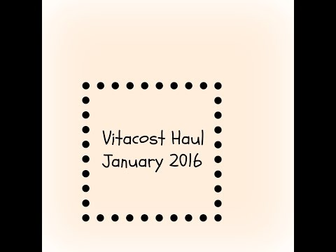 Vitacost Haul (Gluten free)~January 2016