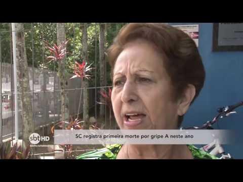 Santa Catarina registra primeira morte por gripe A neste ano