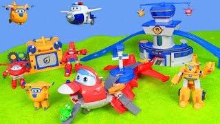 SUPER WINGS deutsch: Jett Feuerwehrmann & mehr neue Spielzeugautos | Kinder Spielzeug