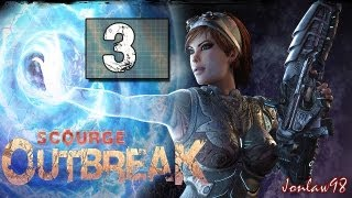 Scourge Outbreak Walkthrough: Part 3 (Co-op) - Lets Play Gameplay & Commentary