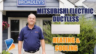 Mitsubishi Electric Ductless Heating and Cooling