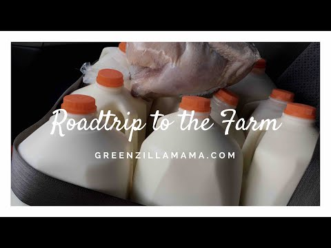 Raw Organic Milk Road trip with Greenzillamama!