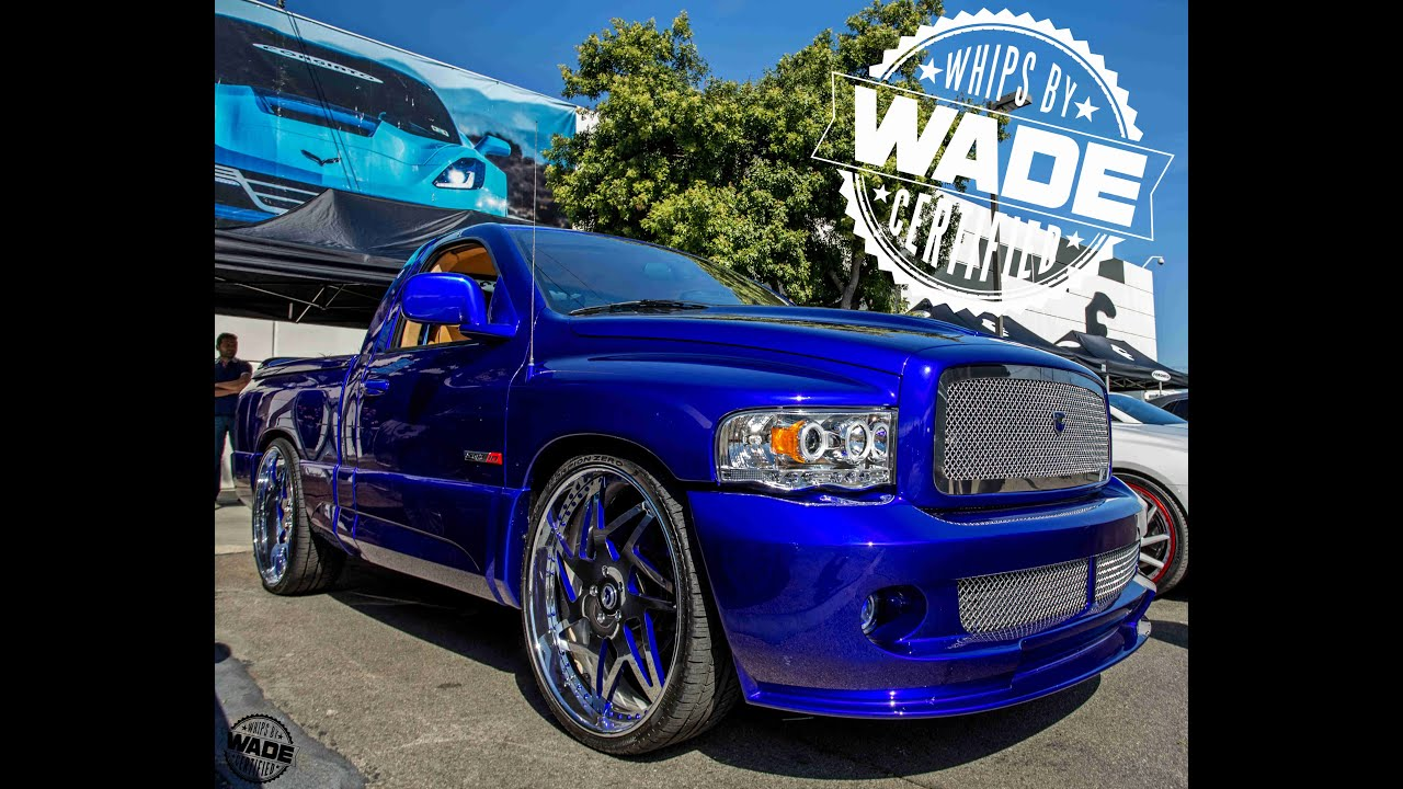 Forgiato Weekend 2016 Candy Blue Ram Srt10 On 26