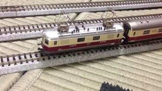 KATO SBB RE4/4 TEE色 カトー スイス国鉄