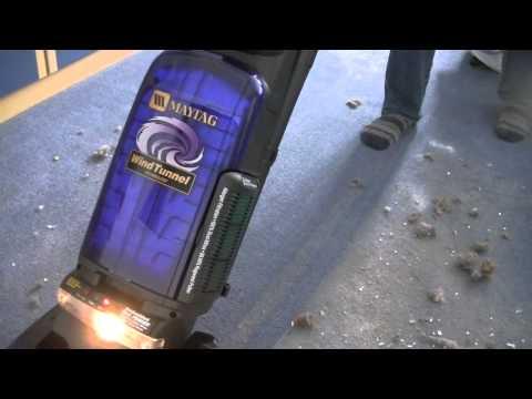 Maytag Windtunnel U5450 Pick Up Demonstration