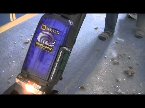 Maytag Windtunnel U5450 Pick Up Demonstration