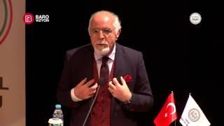 İstanbul Barosu Başkanı Av. Mehmet DURAKOĞLU'nun Açılış Konuşması