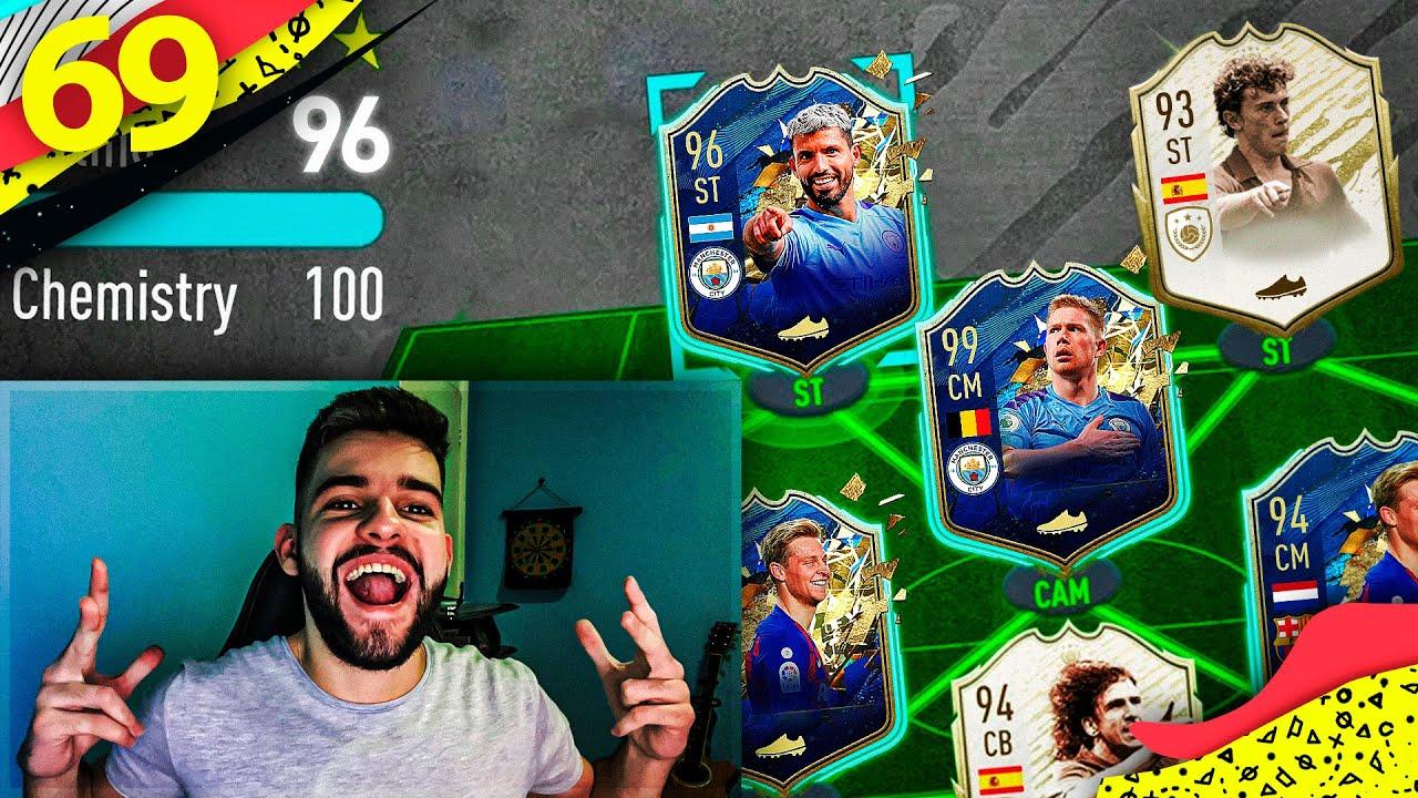 MONTEI MEU NOVO TIME DE 5 MILHÕES DE COINS PARA a WL!! Ultimate Team #69 FIFA 20