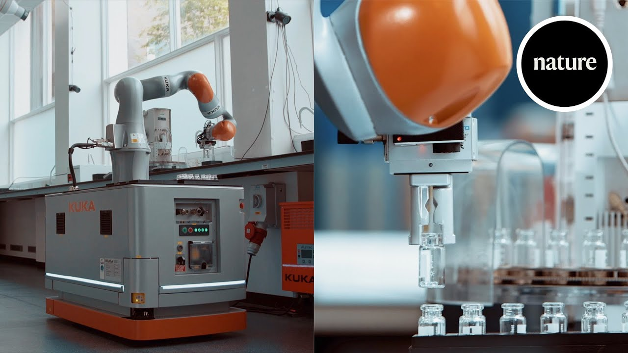 Your new lab partner: A mobile robot chemist - nature video