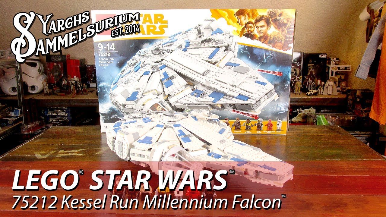 LEGO Star Wars SOLO - Kessel Run Millennium Falcon 75212 - Unboxing ...