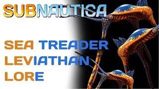 Subnautica Lore Sea Treader Leviathan  Video Game Lore