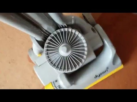 Improve the suction on your dyson upright