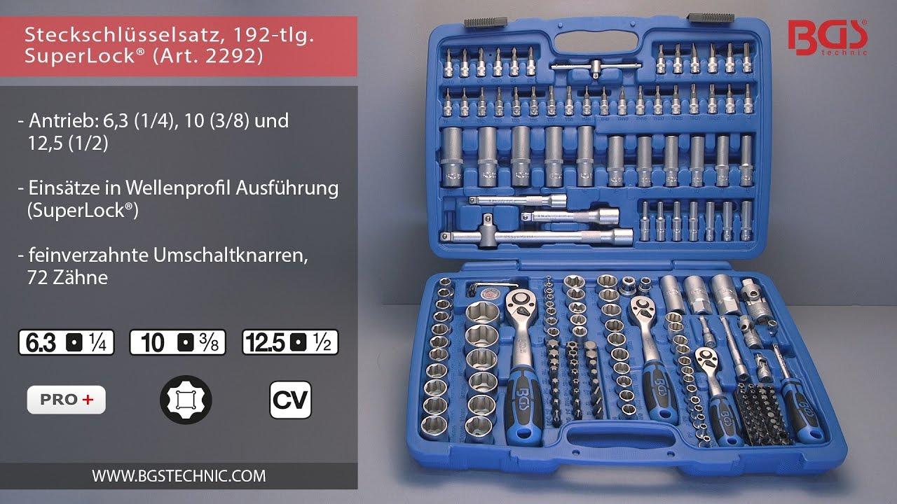 BGS 216 Drehgriff 6,3 mm 150 mm 1//4 Inch