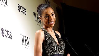 Gold Derby Sophie Okonedo discusses quotRaisin in the Sunquot in Tony Awards press room