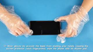 Alinsea Liquid Glass screen protector video