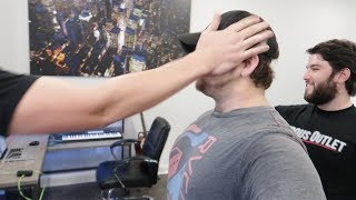 Fans PAID over $2000 for US to SLAP EACH OTHER at Work!