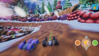 All-Star Fruit Racing - Gameplay #1 (PC/Early Access)