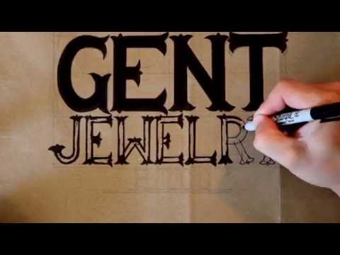 DIY HANDMADE SIGN - NYC GENT JEWELRY