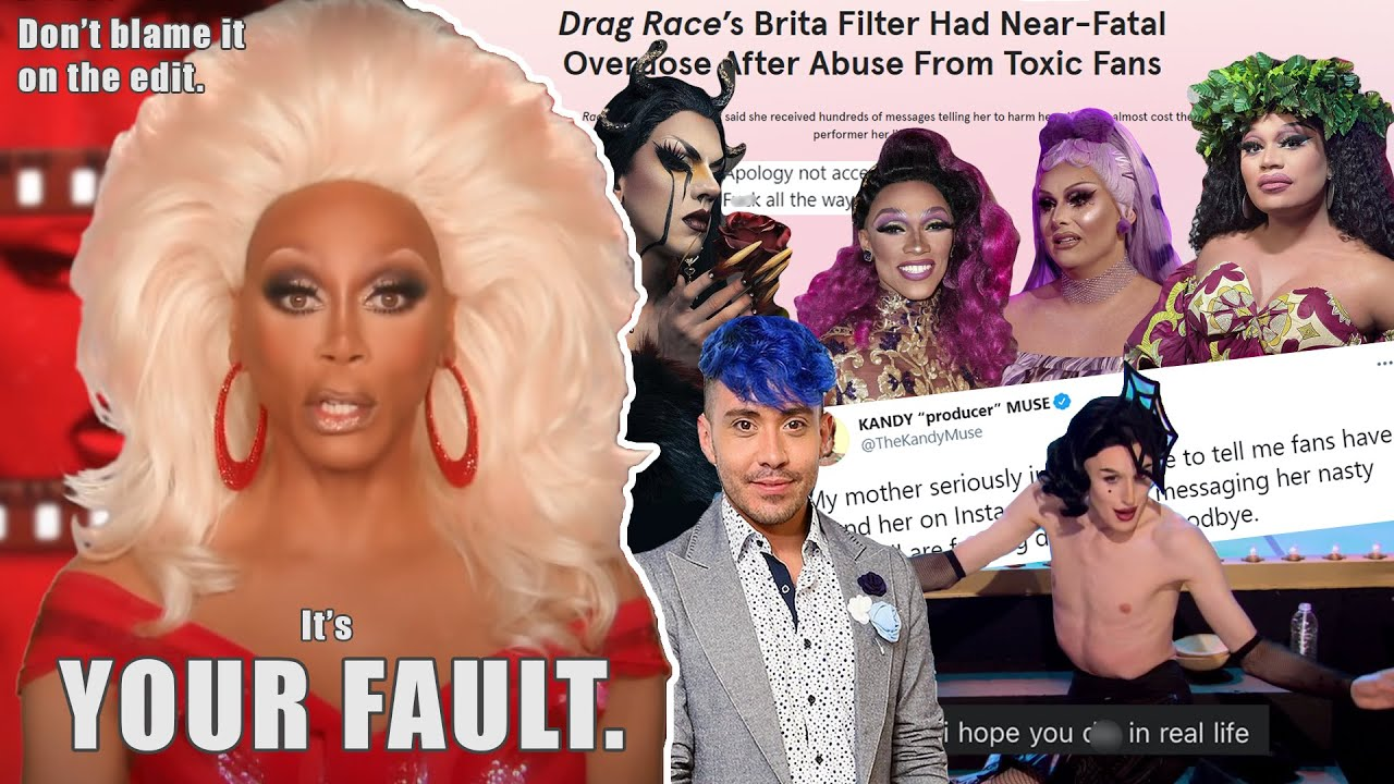 Download RuPaul's Pathetic Attempt to Shift the Blame on the Queens