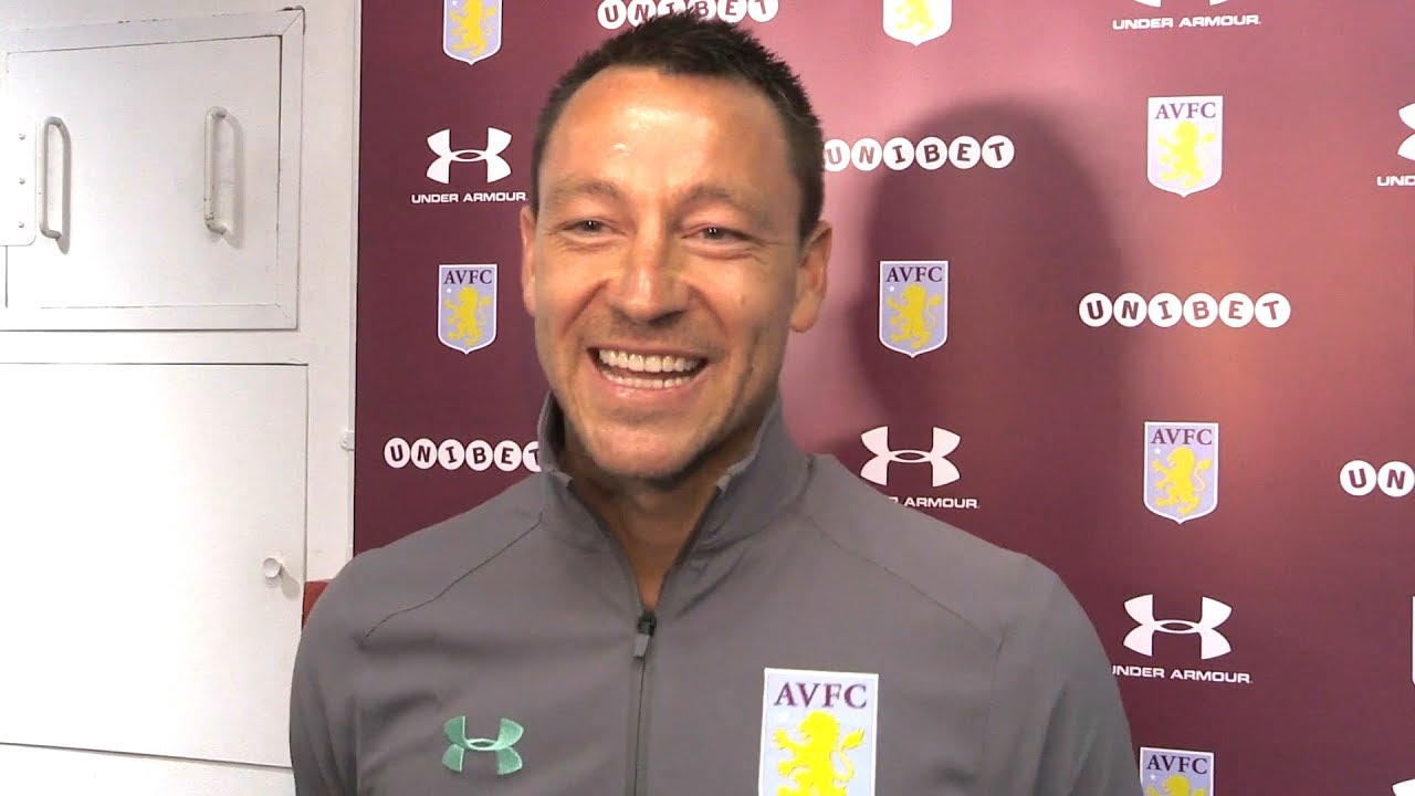 John Terry Interview As He Signs One-Year Deal With Aston Villa - YouTube