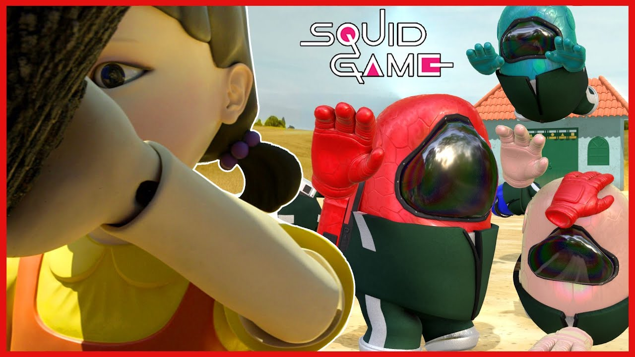Download AMONG US 3D - IMPOSTOR LIFE IN SQUID GAME