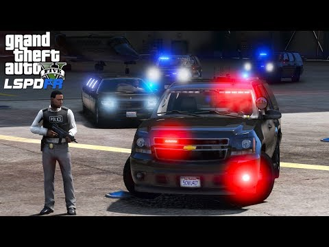 GTA 5 LSPDFR Police Mod 482 | Detective Patrol | Convoy Under Attacked While Escorting A VIP Limo