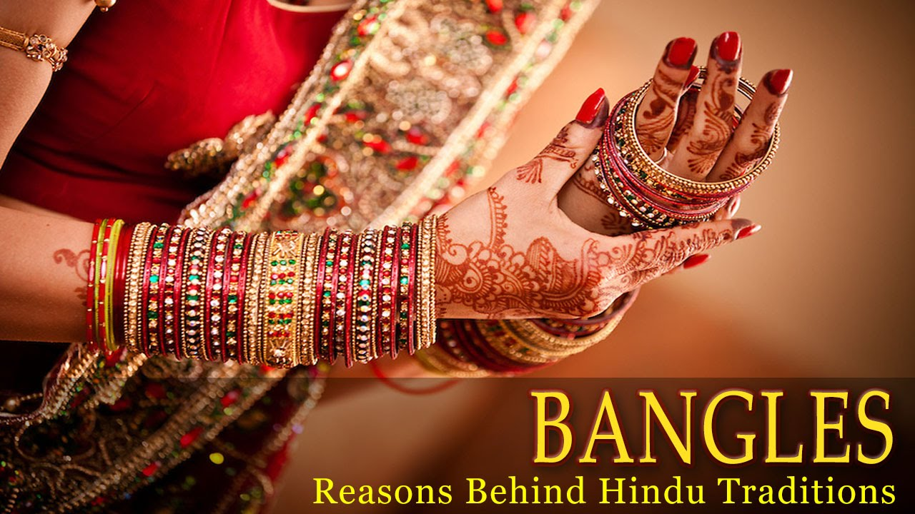 Bangles - Why do Indian Women Wear Bangles - Science Behind Indian ...