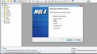 Curso completo de MQL4 Cap. 10 Programando nuestro primer indicador técnico