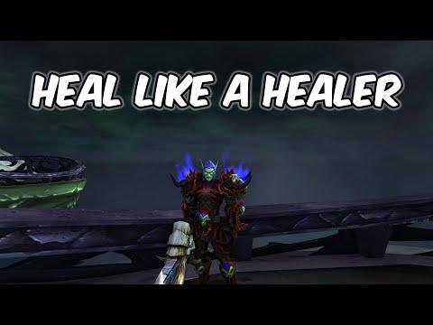 Heal Like A Healer - Blood Death Knight PvP - WoW BFA 8.1.5
