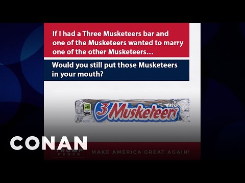 Donald Trump's OTHER Candy-Related Ads  - CONAN on TBS