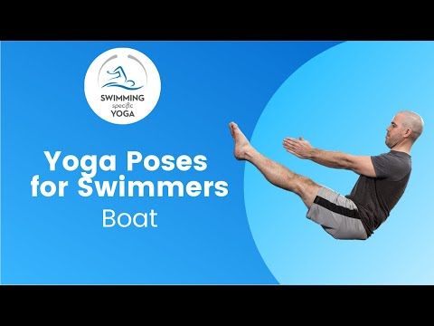 Yoga Poses for Swimmers Boat