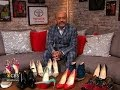 Christian Louboutin on his famous red-soled footwear