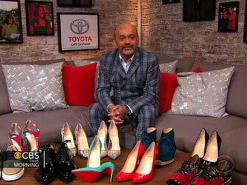 1dea53d3491 Christian Louboutin on his famous red-soled footwear