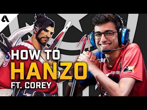 How To Hanzo ft. Corey | Overwatch League Pro Hero Tips