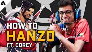 How To Hanzo ft. Corey   Overwatch League Pro Hero Tips