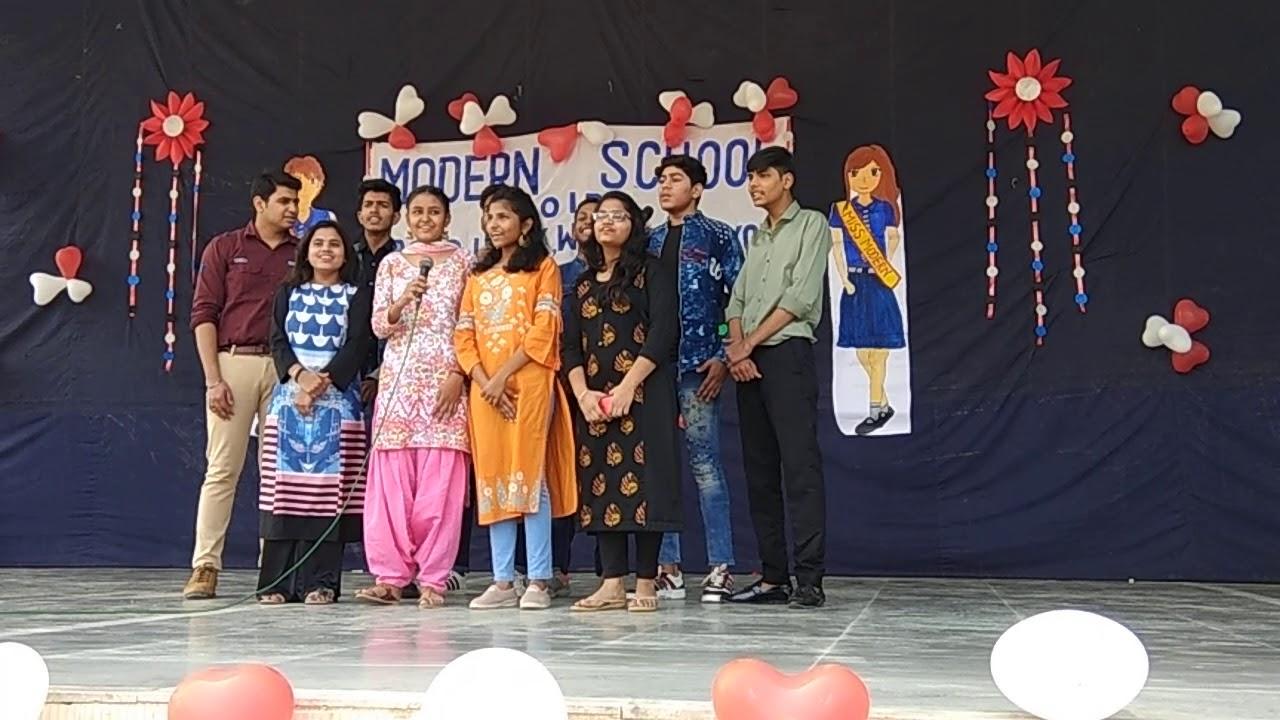Farewell PARTY MODERN SCHOOL NOIDA - YouTube