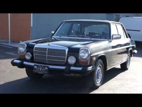W114 W115 Mercedes Benz 300D Diesel 1975 Classic Bio Non Turbo $2999