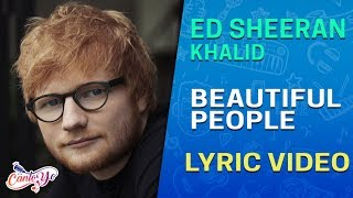Ed Sheeran - Beautiful People (feat. Khalid) (Lyrics + Español)