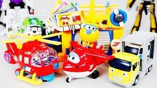 슈퍼윙스 뽀로로 타요 로보카폴리 장난감 | CarrieAndToys