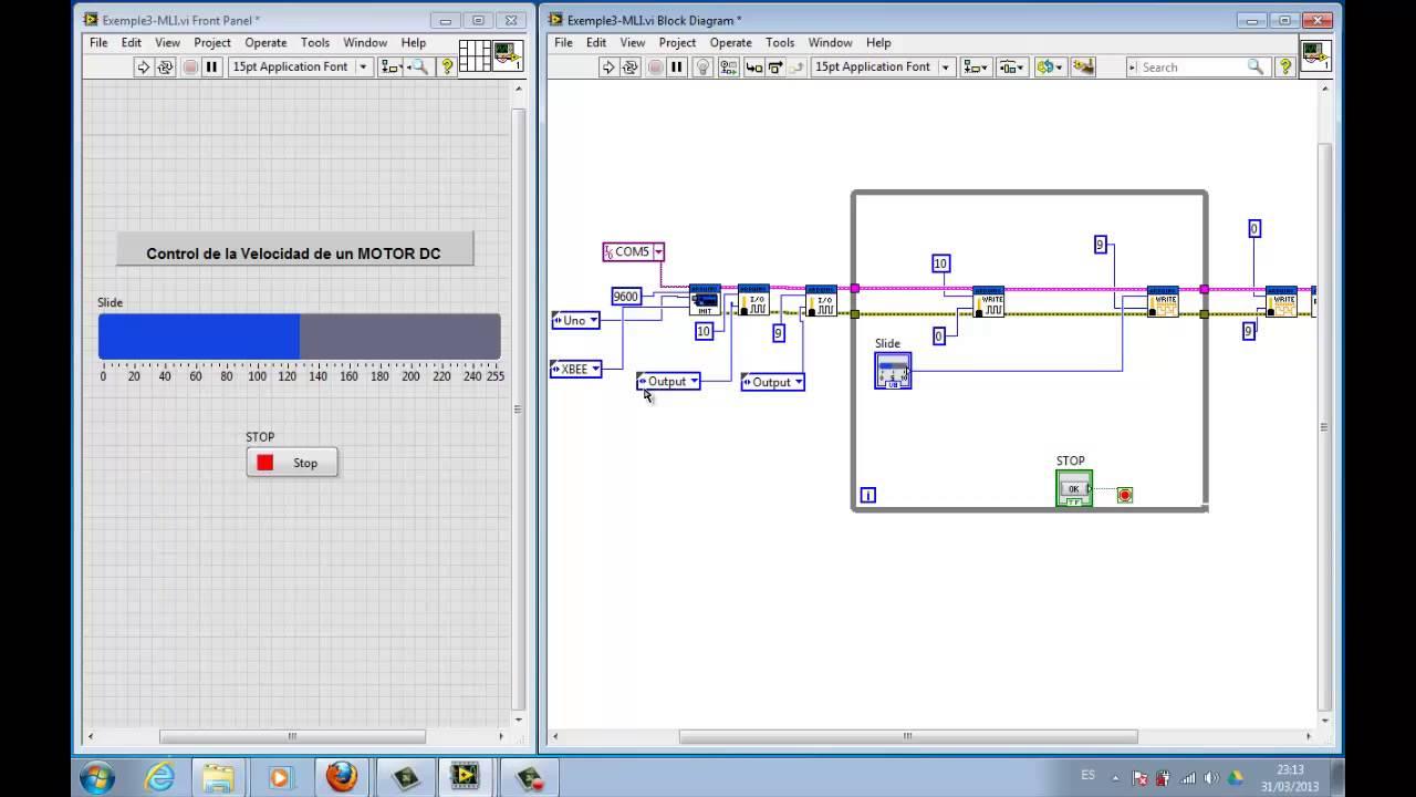 Regulacion de motor dc desde xbee y labview youtube regulacion de motor dc desde xbee y labview ccuart Image collections