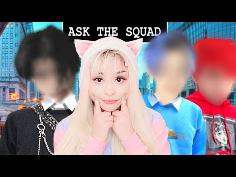 Download Our FIRST Ever QnA In REAL LIFE! w/ The Squad