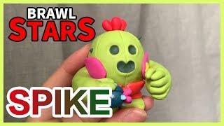 荒野亂鬥 |BRAWL STARTS : SPIKE  - Polymer Clay Tutorial 軟陶泥教學