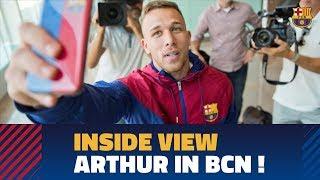Baixar [BEHIND THE SCENES] Arthur lands in Barcelona