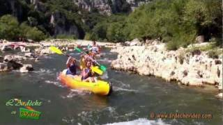 Ardèche - Dessalages dans les Gorges de l'Ardèche (part 3/3)
