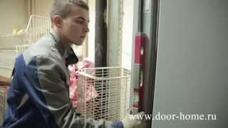 видео Конструкция противопожарных дверей