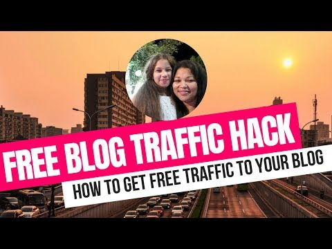 How To Get Traffic To Your Blog ( FREE TRAFFIC METHOD)